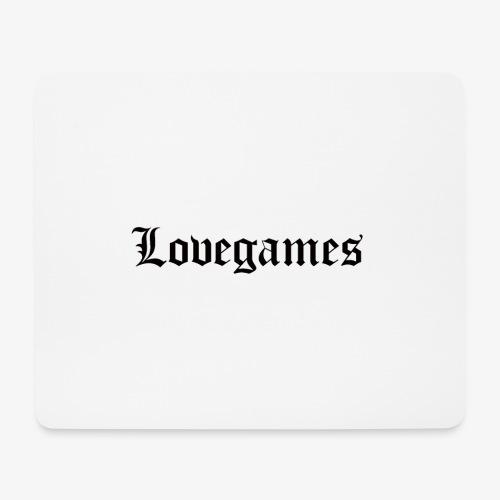 Lovegames Black - Muismatje (landscape)