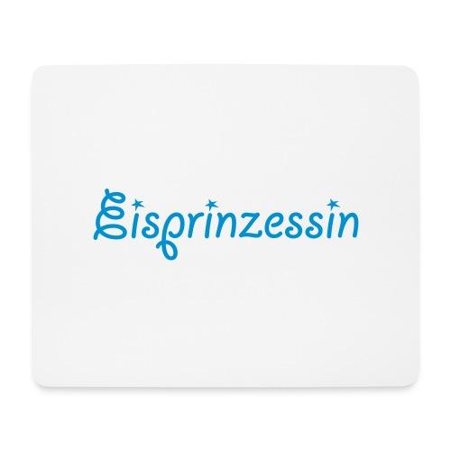 Eisprinzessin, Ski Shirt, T-Shirt für Apres Ski - Mousepad (Querformat)