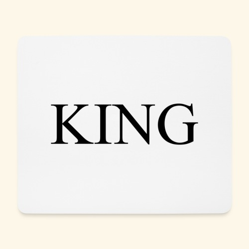 King - Mousepad (Querformat)