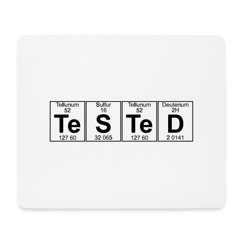 Te-S-Te-D (tested) (small) - Mouse Pad (horizontal)