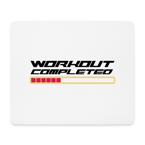 Workout Komplett - Mousepad (Querformat)