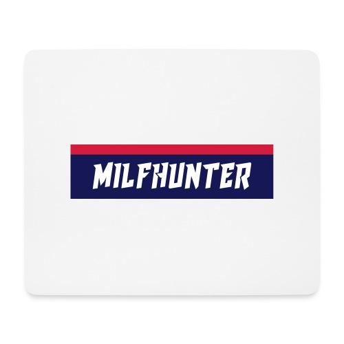 MILFHUNTER Premium Logo - Mousepad (Querformat)