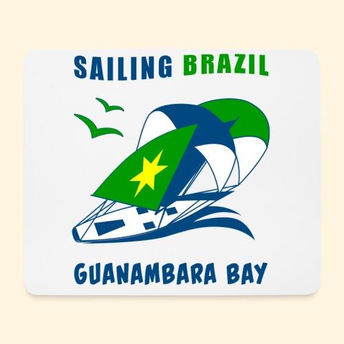 Sailing Brazil - Mouse Pad (horizontal)