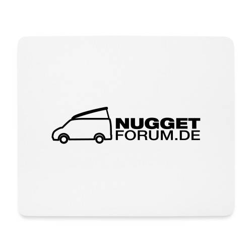 Nuggetforum Aufkleber Auf - Mousepad (Querformat)