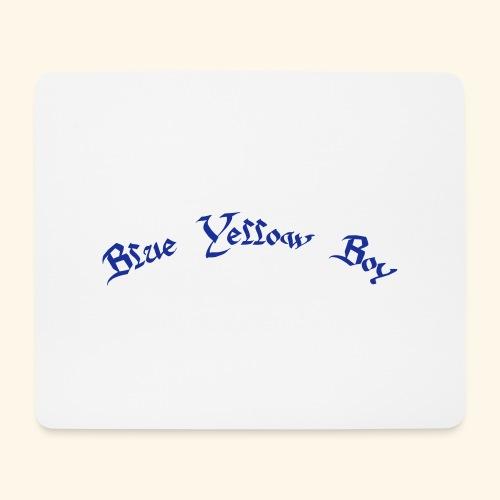 Blue Yellow Boy gebogen - Mousepad (Querformat)