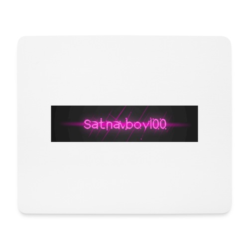 Satnavboy100 Shirt - Mouse Pad (horizontal)