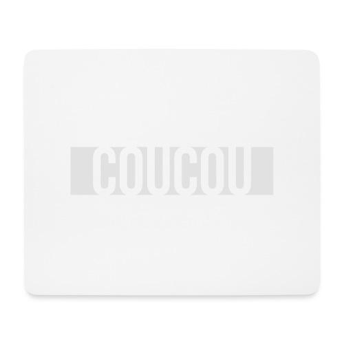 Coucou [1] White - Tapis de souris (format paysage)