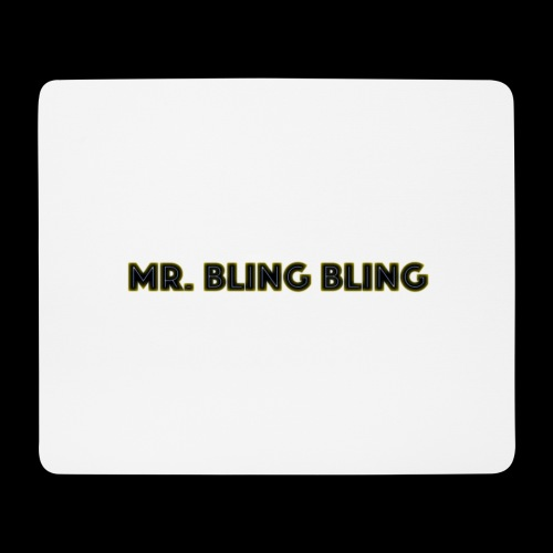 bling bling - Mousepad (Querformat)