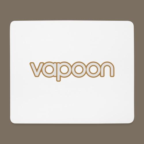 Vapoon Logo simpel 2 Farb - Mousepad (Querformat)