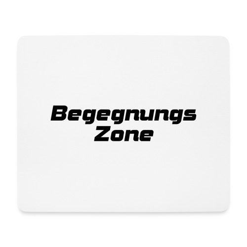 Begegnungszone - Mousepad (Querformat)