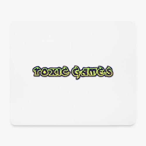 toxic games logo - Mouse Pad (horizontal)