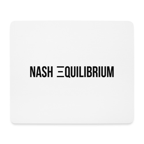 Nash equilibrium - Mouse Pad (horizontal)