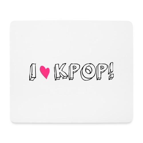 I love kpop! - Mousepad (Querformat)