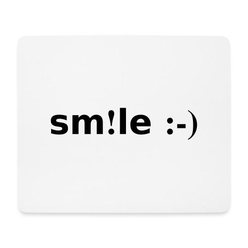 smile - sorridi - Tappetino per mouse (orizzontale)