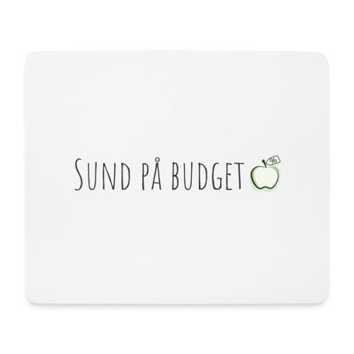 Sund på budget - Mousepad (bredformat)
