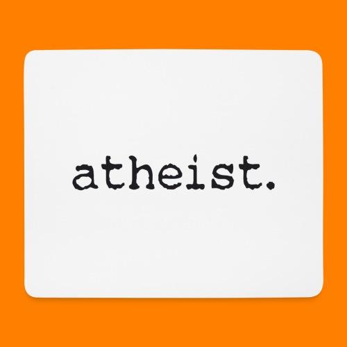 atheist BLACK - Mouse Pad (horizontal)
