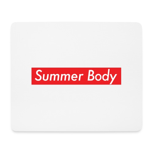 Summer Body - Tapis de souris (format paysage)