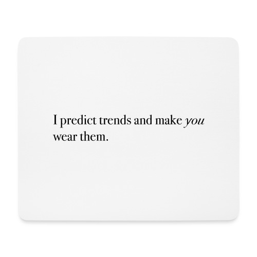 PREDICT TRENDS - Mouse Pad (horizontal)