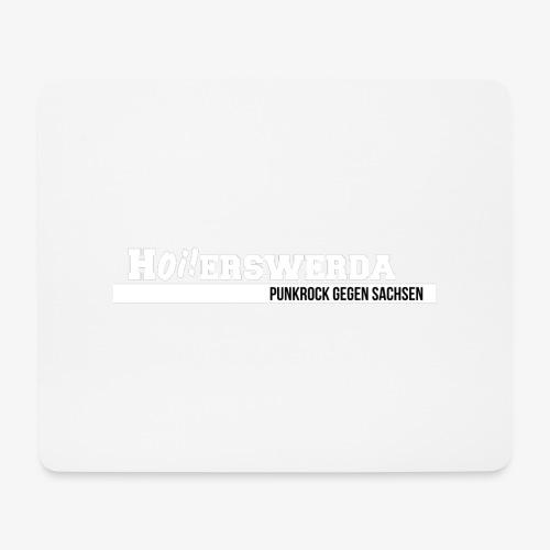 Logo Hoierswerda transparent - Mousepad (Querformat)