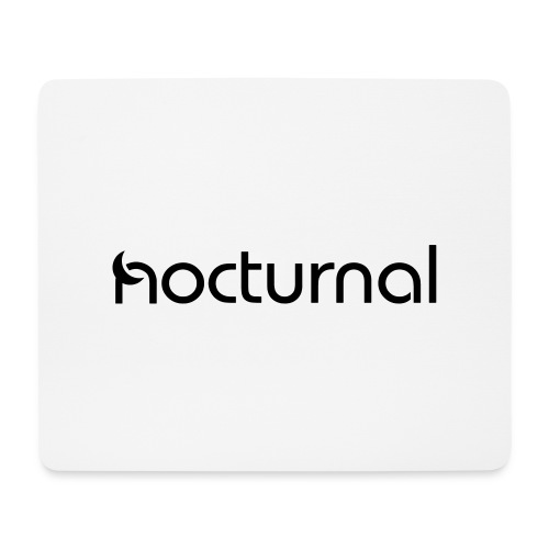 Nocturnal Black - Mouse Pad (horizontal)