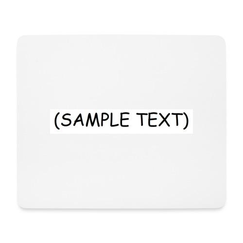 SAMPLETEXT DESIGN - Hiirimatto (vaakamalli)