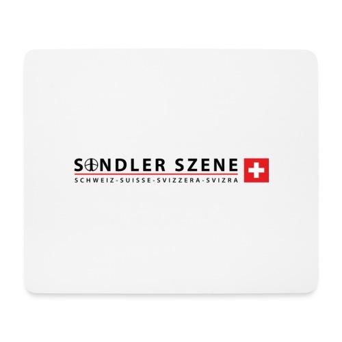 Sondler Szene Schweiz Logo breit - Mousepad (Querformat)