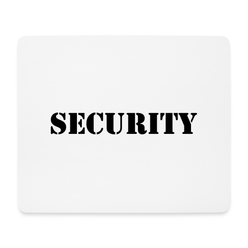 Security - Mousepad (Querformat)