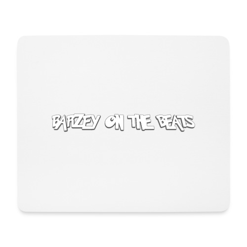 barzey on the beats 4 - Mouse Pad (horizontal)