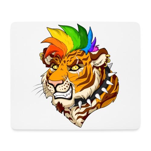 Punk Tiger - Podkładka pod myszkę (orientacja pozioma)