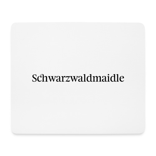 Schwarzwaldmaidle - T-Shirt - Mousepad (Querformat)
