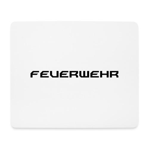 FEUERWEHR Nechao Sharp Farbe Schwarz - Mousepad (Querformat)