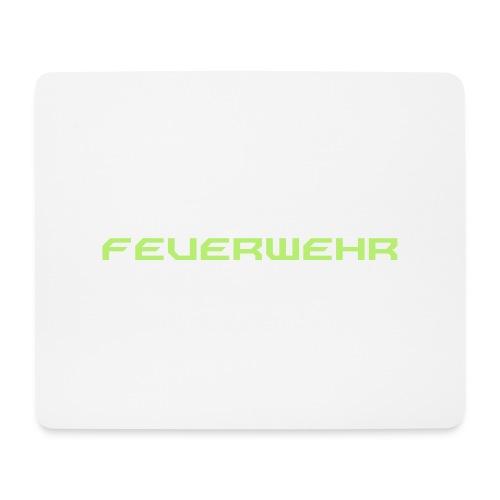 FEUERWEHR Nechao Sharp Farbe Giftgruen - Mousepad (Querformat)