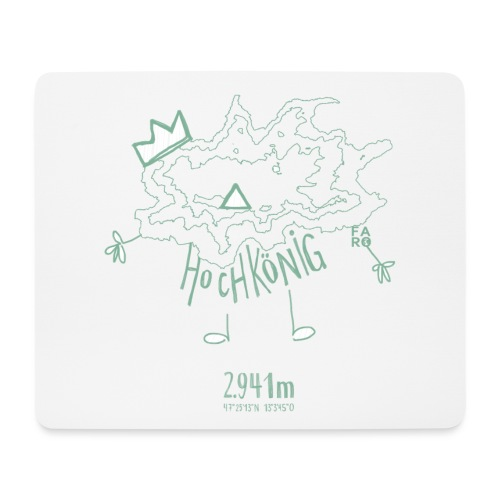 The Hochkoenig Monster - Mouse Pad (horizontal)
