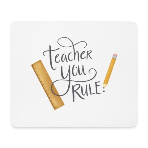 Teacher you rule - Musmatta (liggande format)