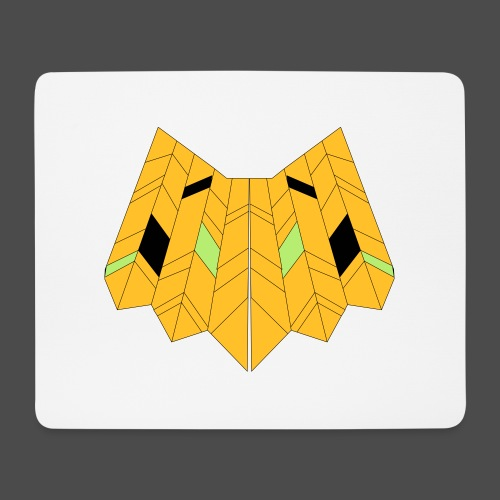 Owl Colour Redraw - Mouse Pad (horizontal)