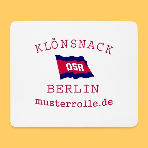KiB-Logo-gif - Mousepad (Querformat)