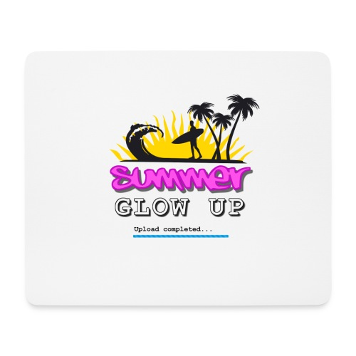 Summer Glow Up - Mousepad (Querformat)