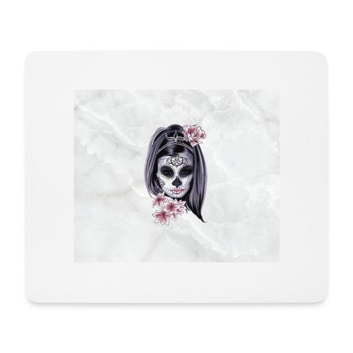 Tête de mort mexicaine - Tapis de souris (format paysage)