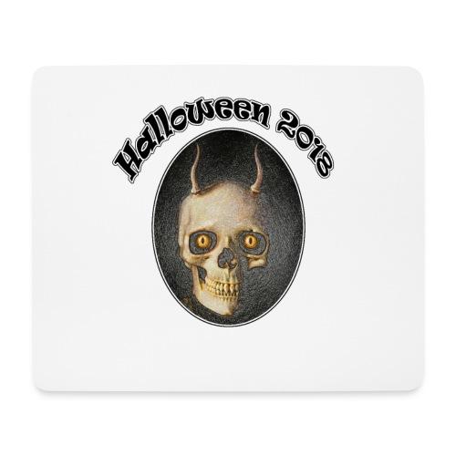Halloween 2018 Horned Devil Skull - Mouse Pad (horizontal)