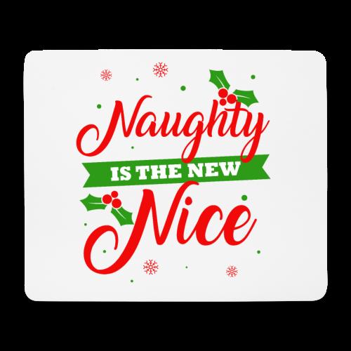 Weihnachten   unartig artig nett - Mousepad (Querformat)