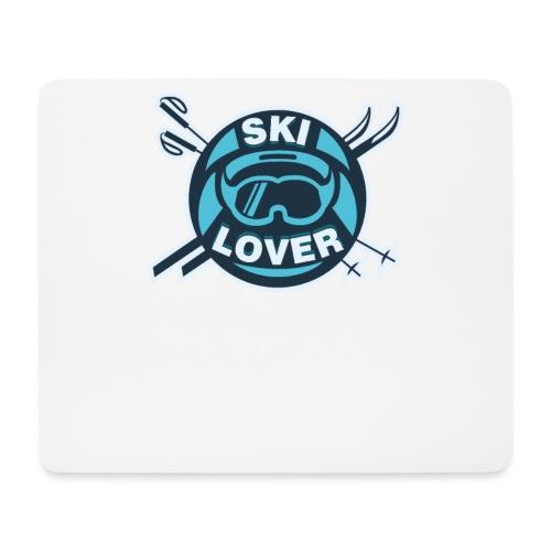 Winter Sports Ski Lover - Mouse Pad (horizontal)
