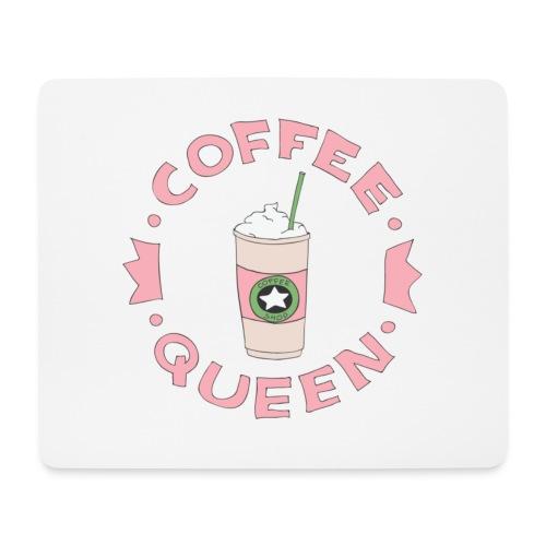 Coffee Queen - Alfombrilla de ratón (horizontal)