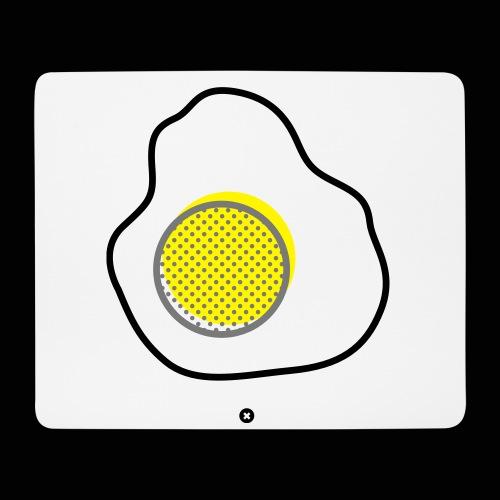 L'œuf sur le plat - Tapis de souris (format paysage)