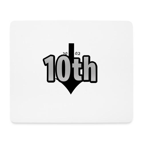 10th Normal Logo - Mousepad (Querformat)