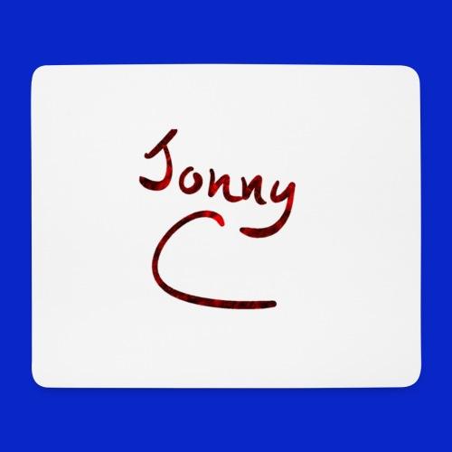 Jonny C Red Handwriting - Mouse Pad (horizontal)