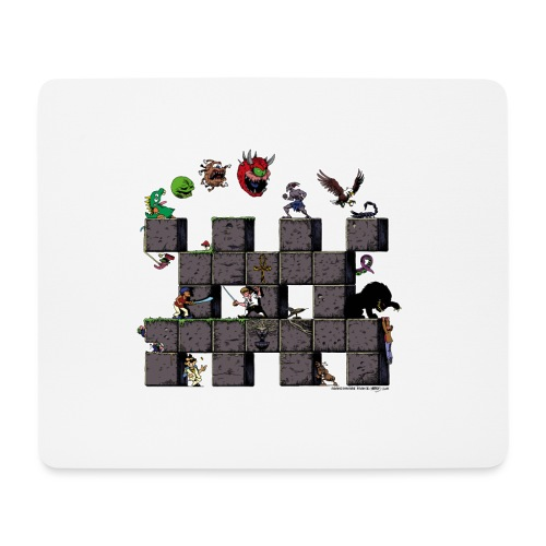 L'histoire du jeu vidéo #AbandonwareFrance - Tapis de souris (format paysage)