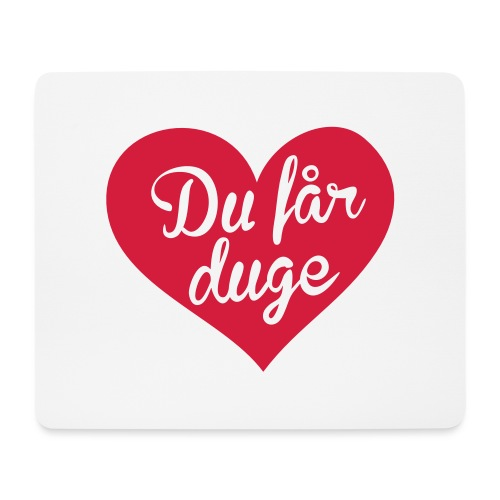 Ekte kjærlighet - Det norske plagg - Musematte (liggende format)