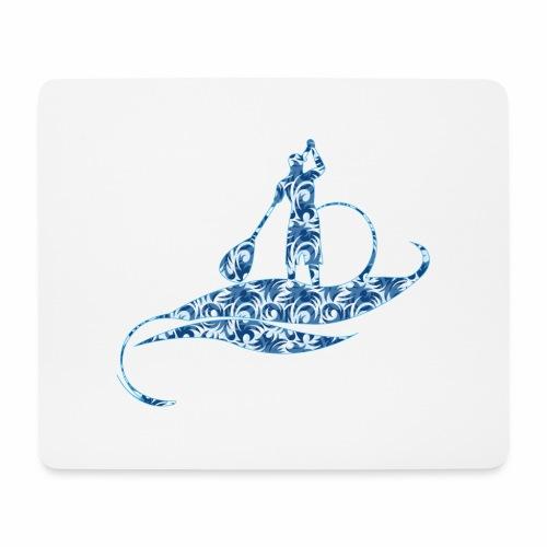 logo jungle style - Tapis de souris (format paysage)
