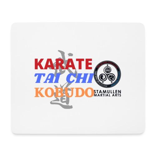 Face mask: Karate, Tai Chi & Kobudo - Mouse Pad (horizontal)