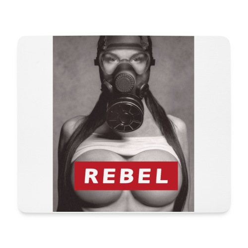 postapocalyptic rebel - Mousepad (Querformat)